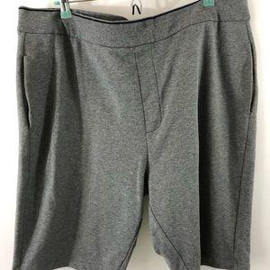 Armani Exchange Men's Bermuda Shorts Gray Size 2XL